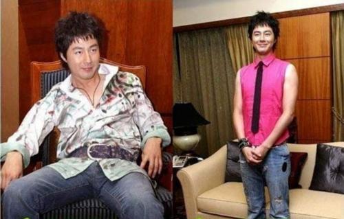 Có ai nhận ra đây là tài tử Jo In Sung, mỹ nam đánh cắp trái tim của hàng triệu khán giả? Chắc chắn anh sẽ vô cùng xấu hổ khi xem lại những hình ảnh này.