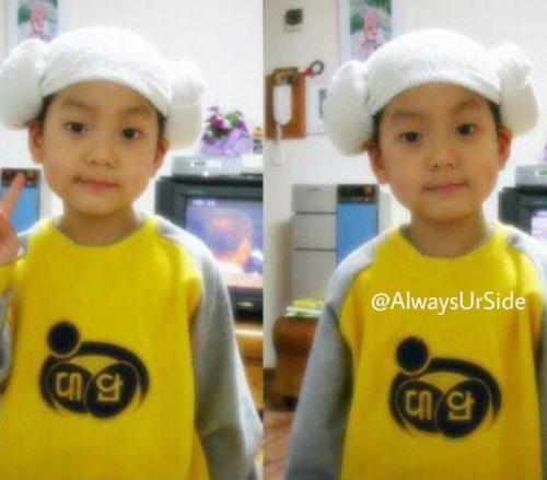 Ảnh ngày bé của Soo Bin được fan nhanh chóng đào mộ.