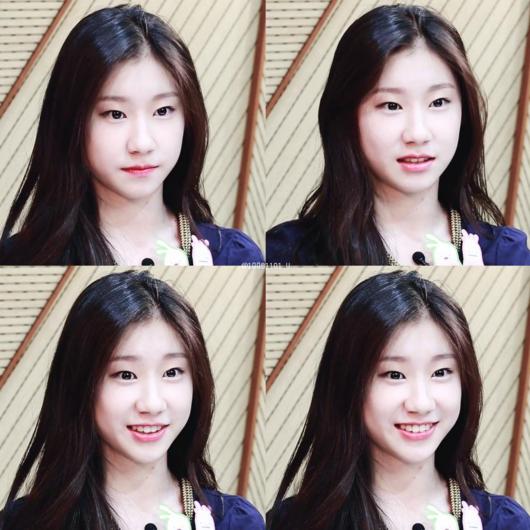 Lee Chae Ryeong được tuyển vào JYP sau khi tham gia vào chương trình K-pop Star năm 2014. Cô từng là một trong những thí sinh trong chương trình thực tế SIXTEEN nhưng đã bị loại ở vòng cuối.