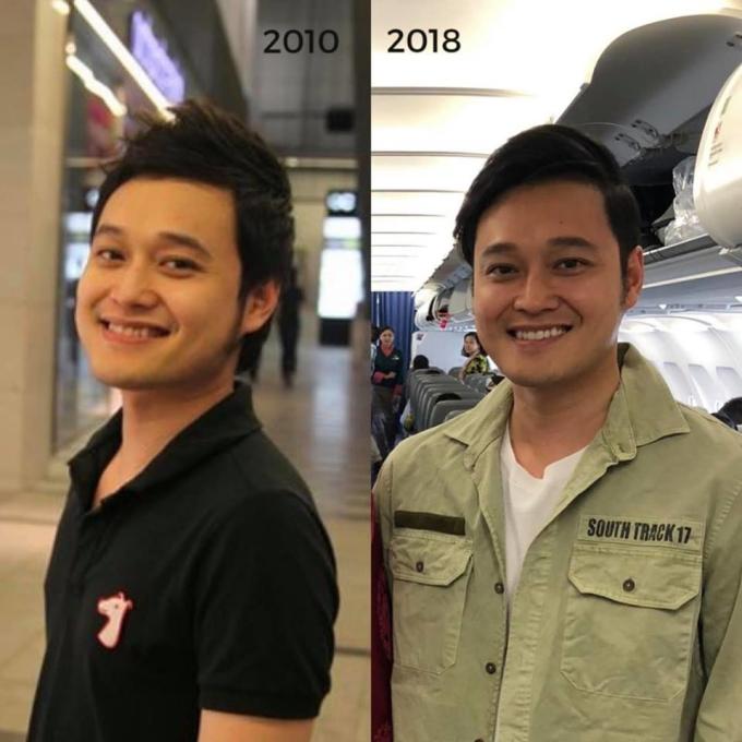 <p> Quang Vinh không già đi chút nào sau gần 10 năm.</p>