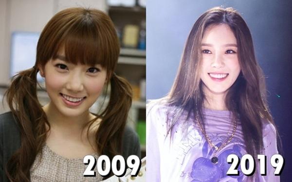Nhan sắc Tae Yeon (SNSD) ngày càng mặn mà so với trước đây.