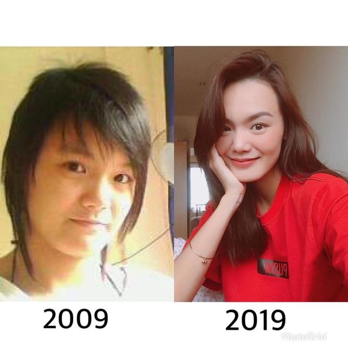 <p> Người mẫu Lê Thanh Thảo 10 năm trước có ngoại hình nam tính.</p>
