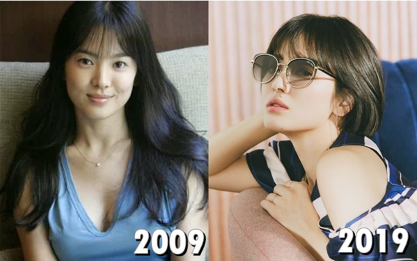 Song Hye Kyo cũng là một trường hợp trẻ mãi không già của Kbiz.