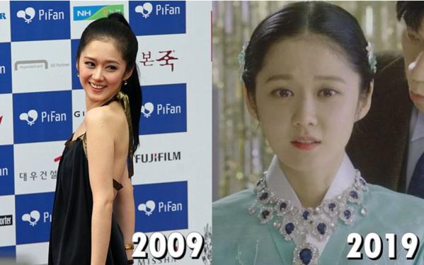 Jang Nara -đại diện nữ thần hack tuổi nhất làng giải trí Hàn Quốc.