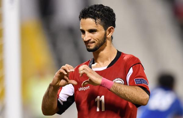 Al-Marati là ngôi sao sáng nhất của Yemen tại vòng loại Asian Cup.