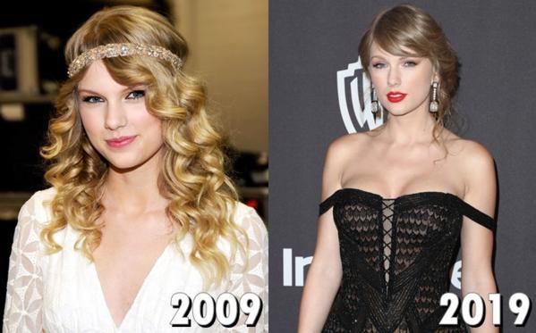 Sau 1 thập kỷ, phong cách của Taylor Swift thay đổi rất nhiều. Nữca sĩ không còn là công chúa nhạc đồng quê đơn thuần, trong sáng như trước mà đã trở thành một ngôi sao nhạc Pop nóng bỏng, đình đám và đời sống riêng cũng không kém thị phi.