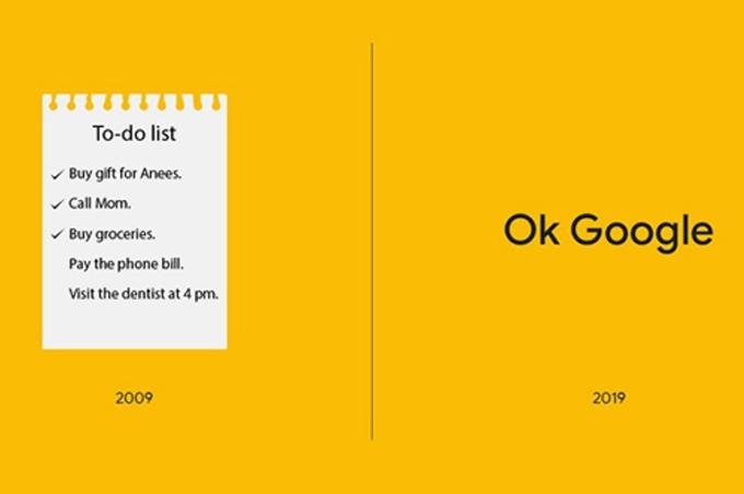 <p> Thời đại của Google.</p>