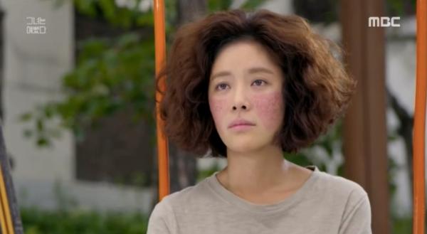 Nữ chính Kim Hye Jin của phiên bản gốc.