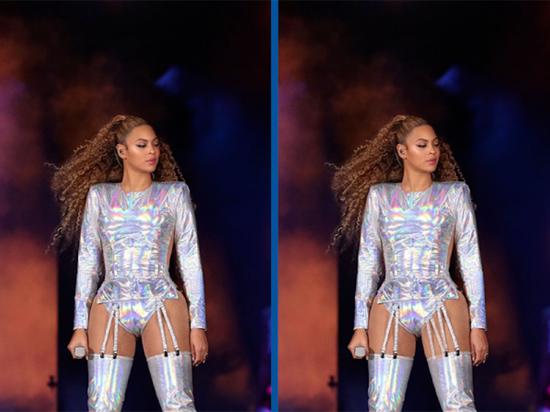 Tinh mắt soi Beyoncé có gì khác lạ? - 1