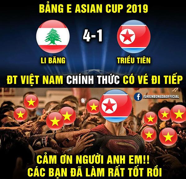 Việt Nam vào vòng 1/8, ảnh chế tràn ngập cảm ơn người anh em Triều Tiên - 2