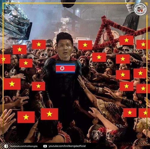 Việt Nam vào vòng 1/8, ảnh chế tràn ngập cảm ơn người anh em Triều Tiên - 3