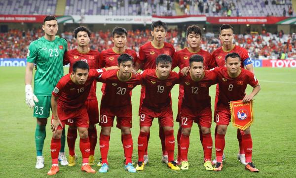 Việt Nam chính thức lọt vào vòng 1/8 ở Asian Cup 2019.