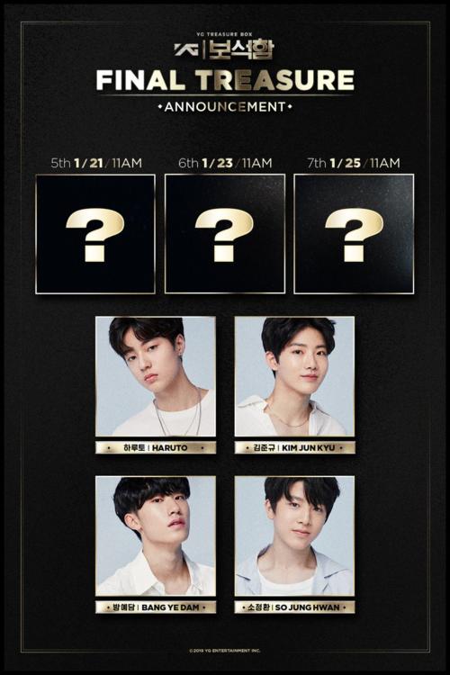 4 trainee đầu tiên giành suất debut trong boygroup 7 thành viên của YG.