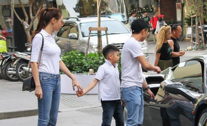 <p> Cường Đô La thường xuyên đưa con trai đi chơi cùng bạn gái.</p>
