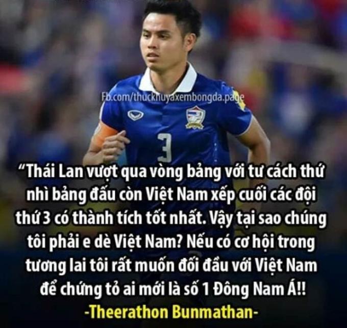 """<p> Thái Lan bước vào vòng knock out với tâm thế tự tin của đội đứng nhì bảng. """"Voi chiến"""" đã thi đấu tốt ở hiệp một và mở tỷ số nhờ chân sút trẻ Supachai. Thế nhưng, sự vùng lên mạnh mẽ của Trung Quốc ở hiệp hai đã dập tắt cơ hội có hai đội bóng Đông Nam Á ở vòng tứ kết cúp châu lục. Thất bại với tỷ số 1-2 trước Trung Quốc, đội bóng xứ Chùa Vàng bị loại khỏi Asian Cup. Trước đó, tuyển Thái Lan cũng bị loại cay đắng tại AFF Cup 2018, ngôi vương thuộc về """"Những chú Rồng Vàng"""".</p>"""
