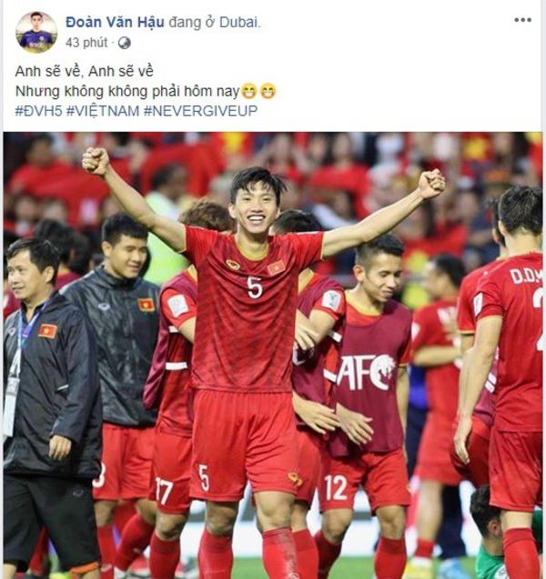 Fox Sports thích thú với anh sẽ về nhưng không phải hôm nay của tuyển thủ Việt
