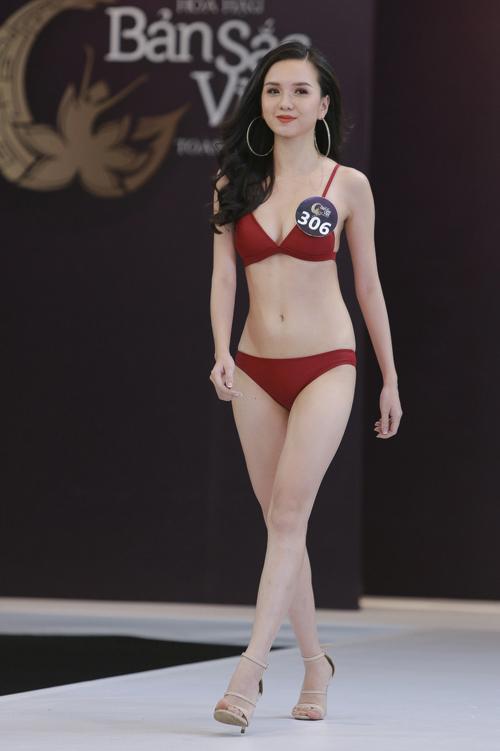Sau khi dừng chân sớm ở Hoa hậu Việt Nam 2018, em gái Nữ hoàng sắc đẹp Vũ Hoàng Điệp - Vũ Hoàng Thảo Vy - được kỳ vọng sẽ đi sâu ở cuộc thi này nhờ vẻ ngoài khá nổi bật.