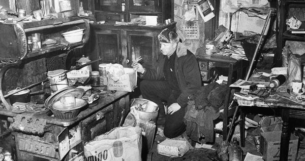 Hình chụp tư liệu về một góc căn nhà kinh dị của Ed Gein.