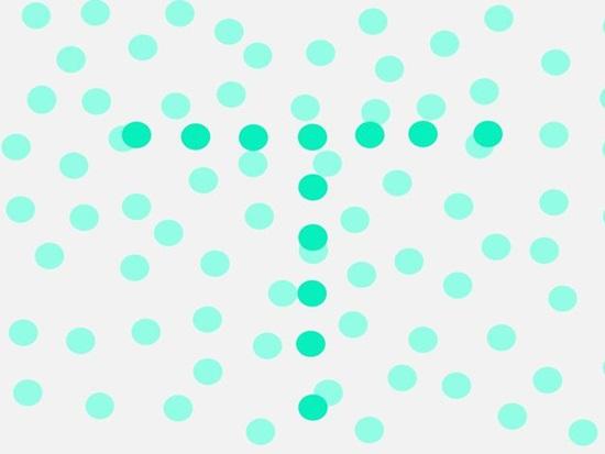 Chấm màu khác biệt mang đến thông điệp gì? - 1