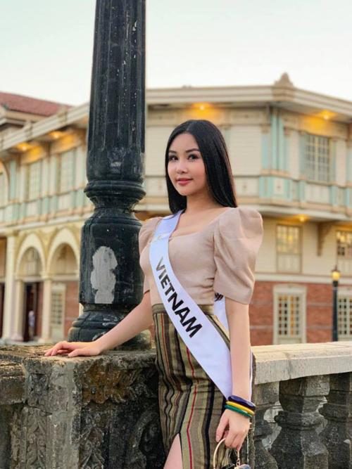 Ngân Anh bị chính khán giả Việt gửi đơn tố cáo đến BTC Miss Intercontinental vì thi chui.