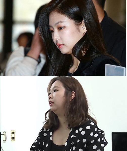 Góc nghiêng của Jennie bị chê giống diễn viên hài.