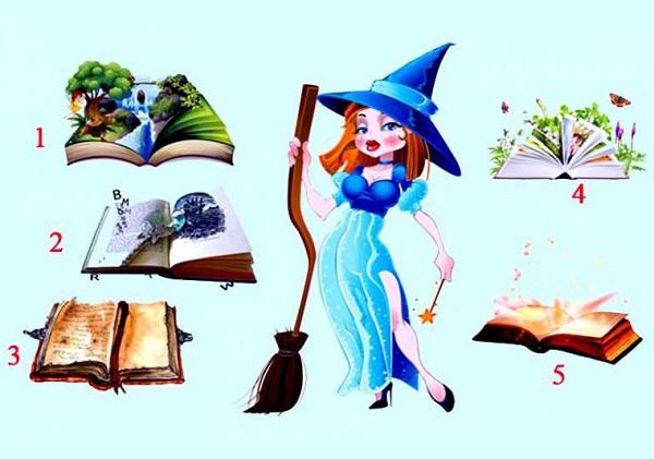 Trắc nghiệm: Lựa chọn một cuốn sách để nhận lời khuyên từ phù thủy xinh đẹp