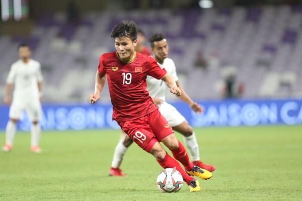 Quang Hải được đánh giá là chân sút hàng đầu đội tuyển Việt Nam.