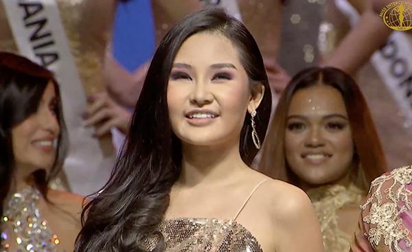 Ngân Anh giành Á hậu 4 Miss Intercontinental 2018.