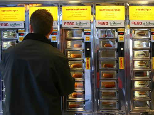 9 chiếc máy bán hàng tự động độc - lạ nhất thế giới - 3