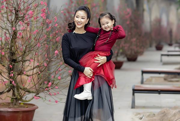 Bé Bồ Câu vừa tròn 4 tuổi, hiện đang theo học một trường mầm non quốc tế tại Hà Nội.