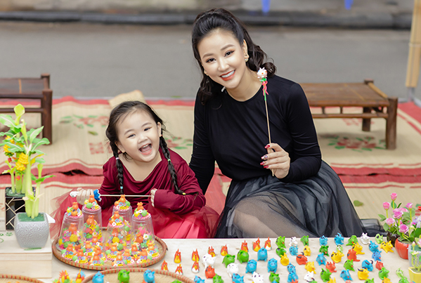 Con gái 4 tuổi của Maya xinh xắn giống hệt mẹ - 6