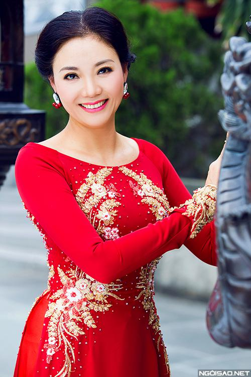 Mẫu thân của Mai Phương cũng khá kín tiếng, ít khi tham dự sự kiện cùng con.
