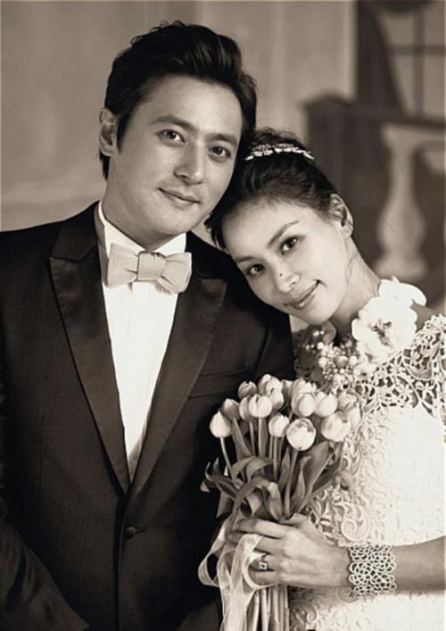 Jang Dong Gun  Go So Young từng là bạn thân trước khi kết hôn.