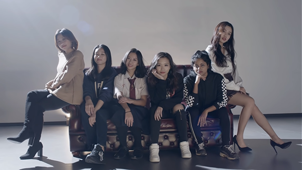 Nhóm nhạc nữ Z- Girls.