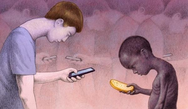 Sự khác biệt giàu nghèo phần nào thể hiện qua thứ mà trẻ em cần.