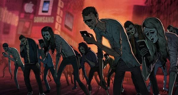 Công nghệ đang vô tình biến người trẻ thành những& xác sống.