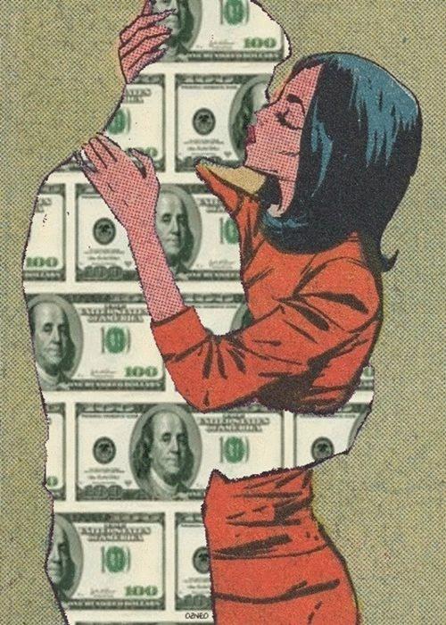 Nhiều cô gái thời đại mới sống quá thực dụng.