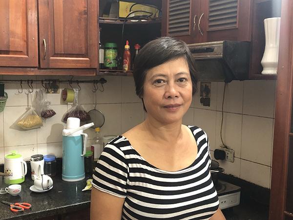 Nữ diễn viên đang ở một mình trong căn nhà nhỏ ở Long Biên, Hà Nội.