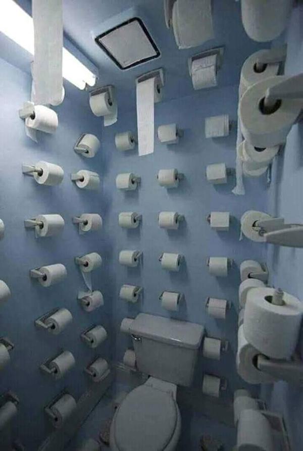 Cơn ác mộng hết giấy sẽ không bao giờ thành hiện thực nếu bạn sử dụng toilet này.