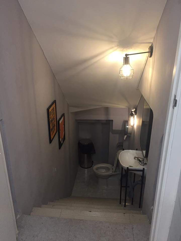 Trái lại đây chắc hẳn chiếc toilet cho những người sống nội tâm.