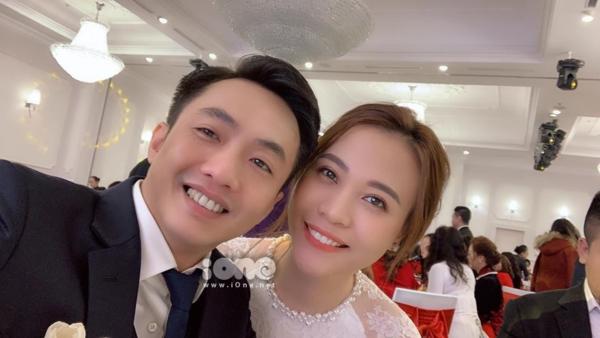 Vợ chồng Cường Đô La - Đàm Thu Trang.