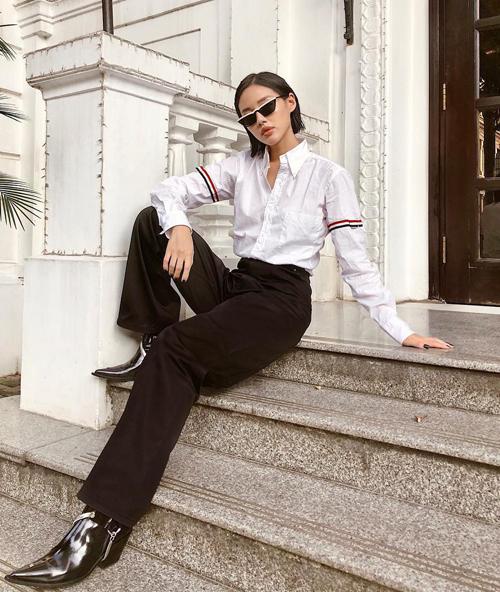Từ sao nam như Trịnh Thăng Bình cho đến sao nữ như Khánh Linh The Face đều chi hơn 10 triệu đồng để rước về chiếc áo đậm chất unisex này.