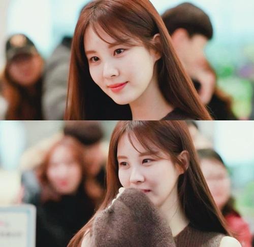 Sau khi rời SM, Seo Hyun ngày càng xinh đẹp, có nhiều công việc riêng hơn thời còn ở công ty cũ.