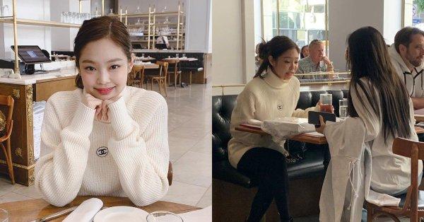 Jennie và Irene đi ăn riêng ở Mỹ.