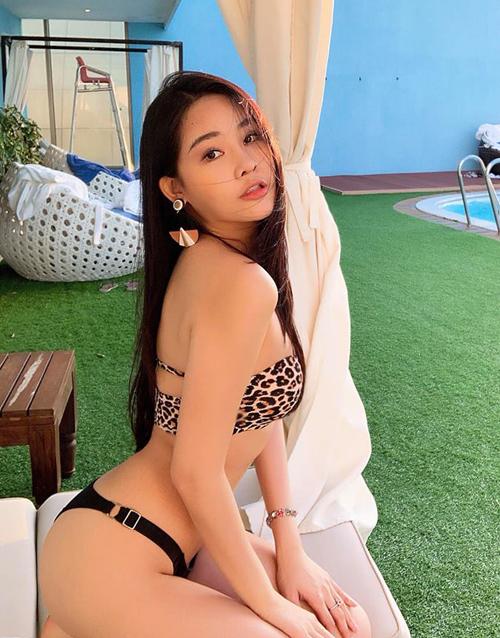 Á hậu 4 Miss Intercontinental 2019 vốn sở hữu số đo được khen chuẩn mực86-58-94 cm