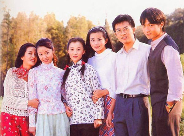 Dàn diễn viên Tân Dòng Sông Ly Biệtnăm ấy.