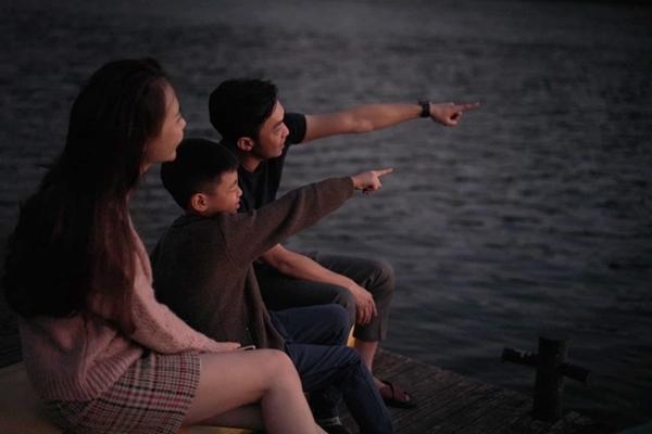 Đàm Thu Trang ngày càng thân với con riêng Hồ Ngọc Hà - 4