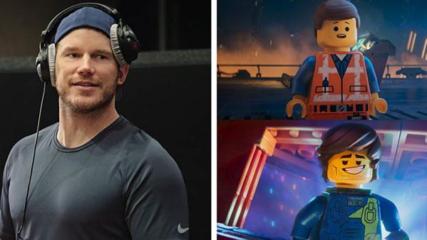 Chris Patt đóng đúp hai nhân vật Emmet và Rex với những đoạn hội thoại tay đôi thú vị.