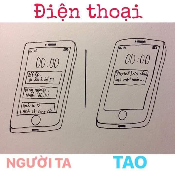 Ngày 3 tin nhắn chứng tỏ nhà mạng điện thoại còn quan tâm bạn hơn cả người yêu.
