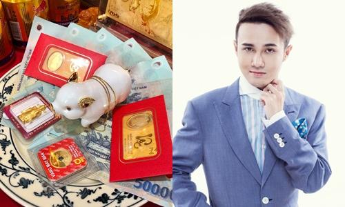 Ngày tài tình nên Huỳnh Lập cắt trữ vàng, tiền bạc đầy nhà.